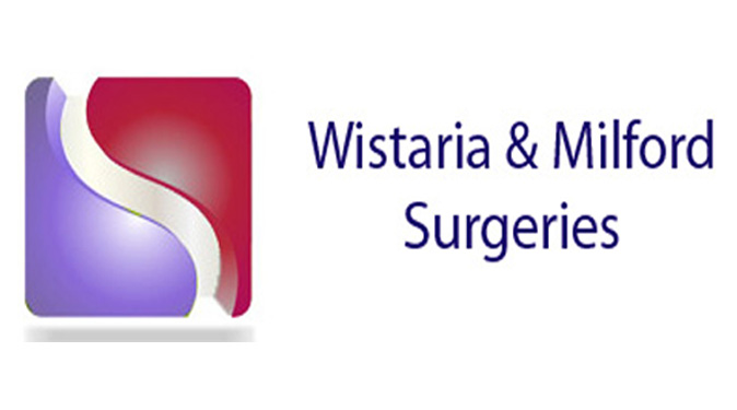 Wistaria and Milford Surgeries Website